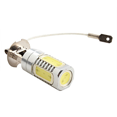 H3 7.5W 600LM 7000-8000K White Light High-Power LED Bulb for Car Lamps (DC 12V) 1pc