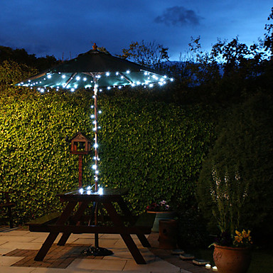 lampade a sospensione a 60 luci a fiabe solari a luce bianca per esterni