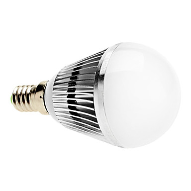 3W E14 Bombillas LED de Globo A50 3 LED de Alta Potencia 300 lm Blanco Natural Regulable AC 100-240 V