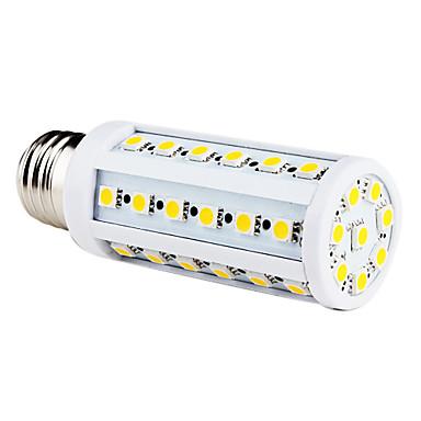9W 200-300 lm E26/E27 LED a pannocchia T 44 leds SMD 5050 Bianco caldo CA 220-240 V