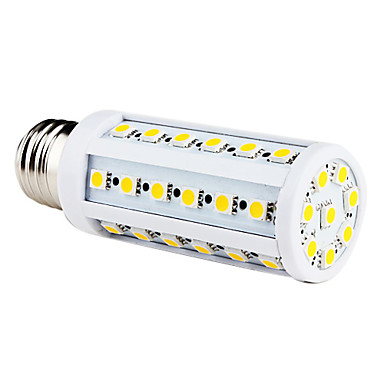 9W 200-300 lm E26/E27 LED corn žárovky T 44 lED diody SMD 5050 Teplá bílá AC 220-240V