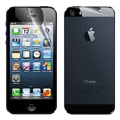 Ekran Koruyucu için Apple iPhone 6s / iPhone 6 / iPhone SE / 5s 1 parça Ön ve Arka Koruyucu Mat