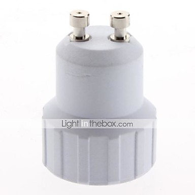 GU10'dan E14'e E14 Işık soketi Plastik