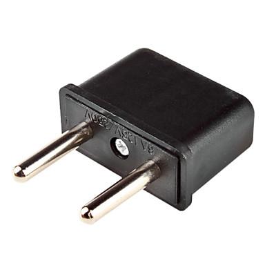 os stik til EU-stik power adapter (sort)