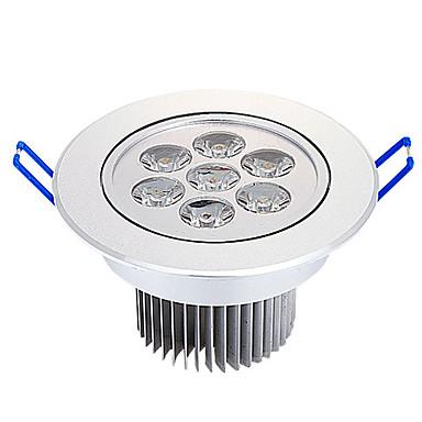 7W 735LM 3000-3500K Warm White Light LED Ceiling Bulb (220V)