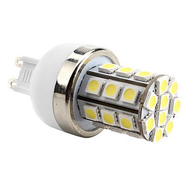 6000 lm G9 LED Corn Lights T 30 leds SMD 5050 Natural White AC 220-240V