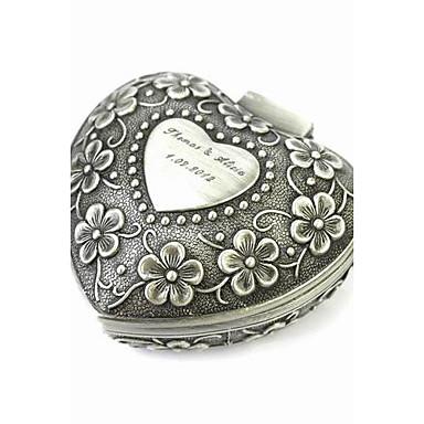 billige Damesmykker-Dame Smykkeskrin Tinnlegering Klassisk Vintage Mote Bryllup jubileum Daglig