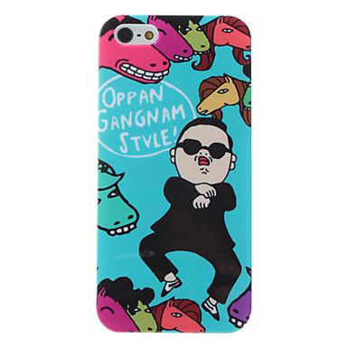 Cool Gangnam Style PSY Pattern Hard Case for iPhone 5/5S
