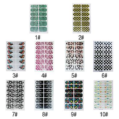 1pcs 2D Finger Nail Art Nail Decoration