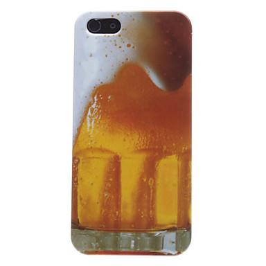 pivo bublina vzor pevné pouzdro pro iPhone 5/5s