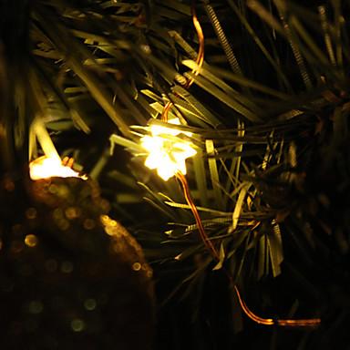 2M 20-LED Warm White Light Chrysanthemum Formet LED String fe Lamp (3xAA)