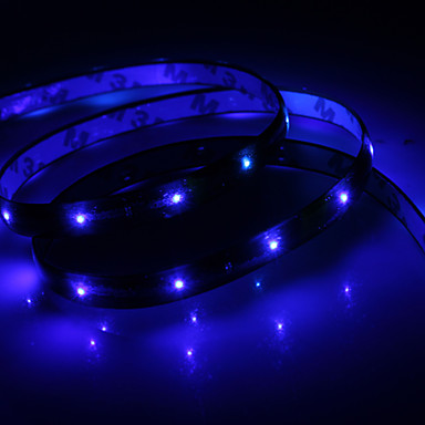 Vandtæt 60cm 24-LED Blue LED Strip Light (12V)