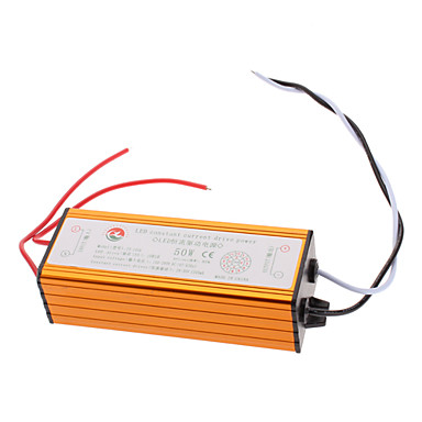 DIY 50W 5x10 Waterproof LED Power Supply Driver (110-240V)