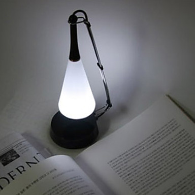 Touch Sensor White Light LED Night Lamp with Mini Speaker (USB/3xAAA)
