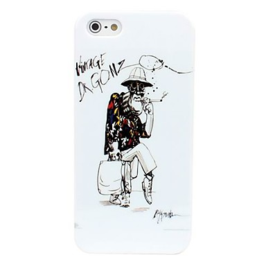 Old Man Pattern Hard Case for iPhone 5/5S