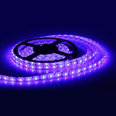 Vandtæt 5M 300x5050 SMD Blue Light LED Strip Lamp (12V)