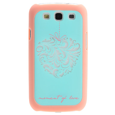 Memory of Love Design 2 in 1 Detachable Hard Case for Samsung Galaxy S3 I9300