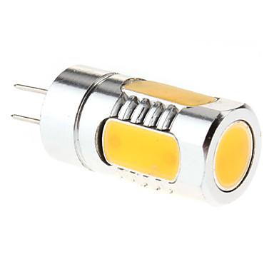G4 5W 300-350LM 3000-3500K Warm White Light LED Spot Bulb (12V)