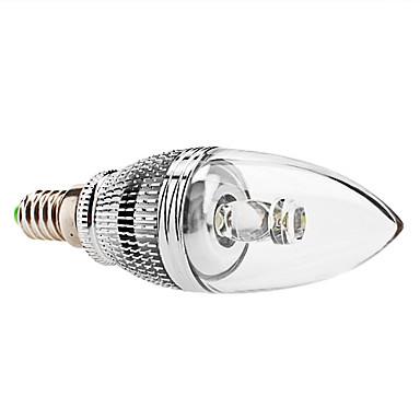 E14 LED Mum Işıklar C35 1 Yüksek Güçlü LED 240 lm Doğal Beyaz Kısılabilir AC 85-265 V