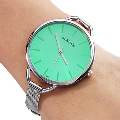 Dam Quartz Armbandsklocka Heta Försäljning Band Berlock Silver