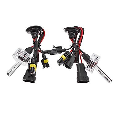 Xenon 9006 HID Lamp Bulbs for Car Headlight (12V-35W, 2-Piece)