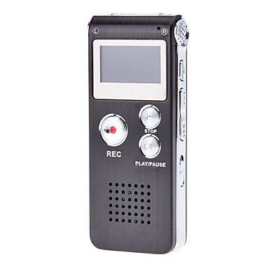 Multifunctional Digital Voice Recorder with LCD Display (4GB)