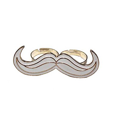 Big Size Mustache Ring