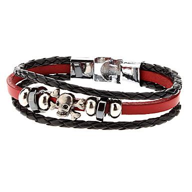 Combinación de accesorios de cuero Bastante Rope Bracelet
