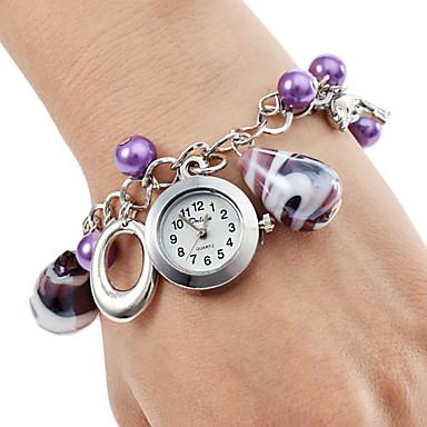 Femme Quartz Bracelet de Montre Japonais Acier Inoxydable Bande Elégant / Mode Violet