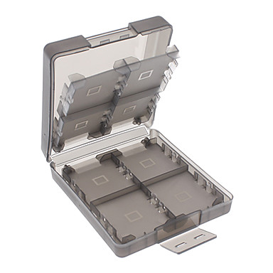 8-In-1 Storage Game Card Cases for 3DS XL/LL (Assorted Colors)