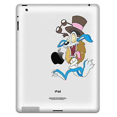 Projeto dos desenhos animados adesivo de proteção para o iPad 1, iPad 2, iPad 3 e The New iPad