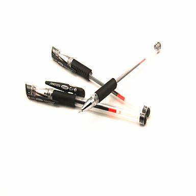 styl klasyczny czarny długopis żelowy tusz (losowe kolory 1szt)