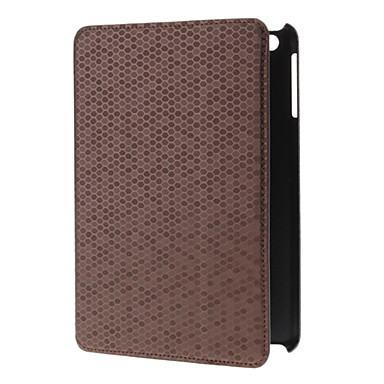 Snakeskin Style PU Leather Case with Stand for iPad mini
