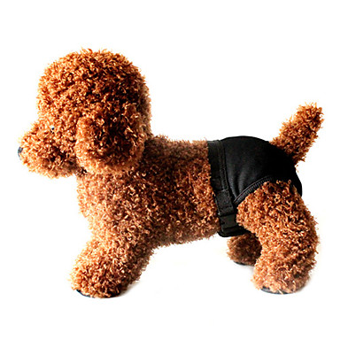Dog Pants Dog Clothes Solid Black Costume For Pets