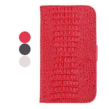 Stand Tilgængelige Læder Samsung mobiltelefon Cases til Galaxy Note 2/7100 (3 farver)