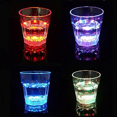 Gafas de colores luminosos LED Vino