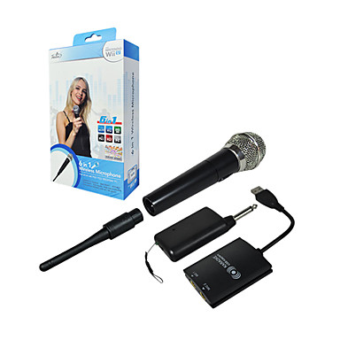 PEGA Wireless Microphone for Wii U/Wii/PS2/PS3/Xbox 360/PC