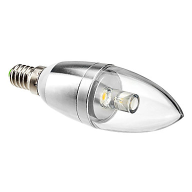 Dekorativ Kerzenlampen C35 E14 1 W 90 LM 3000K K 1 High Power LED Warmes Weiß AC 85-265 V