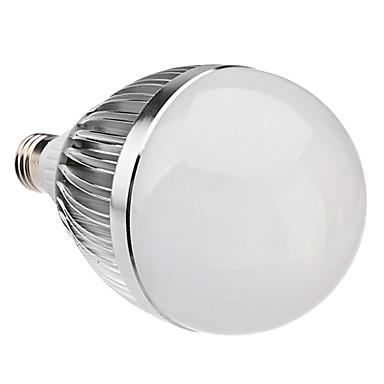 Bulb LED Glob 6000 lm E26 / E27 G60 15 LED-uri de margele LED Putere Mare Alb Natural 85-265 V
