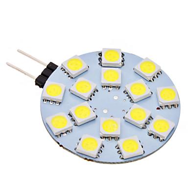 2W G4 2-pins LED-lampen 15 SMD 5050 150 lm Natuurlijk wit AC 12 V
