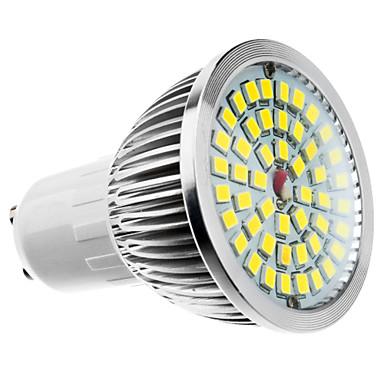 6W 500-550lm GU10 Точечное LED освещение MR16 48 Светодиодные бусины Тёплый белый Холодный белый Естественный белый 100-240V 85-265V
