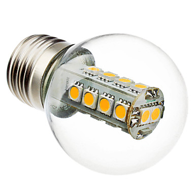e26 / e27 led ampuller g45 18 smd 5050 230lm sıcak beyaz 6000k ac 220-240v