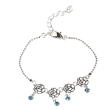 Azul Four Diamond Bracelet Flower Thin