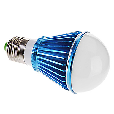 Bombillas Globo Regulable E27 5 W 5 LED de Alta Potencia 300-350 LM 6000-6500 K Blanco Natural AC 220 V