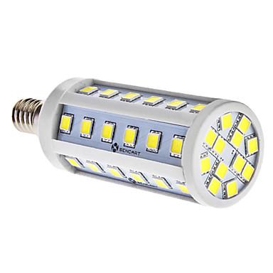 E14 7 W 48 SMD 5050 580 LM Natural White T Corn Bulbs AC 85-265 V