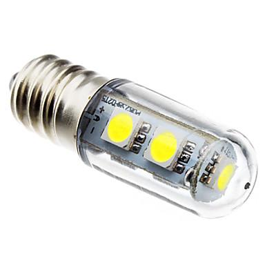 80lm E14 LED a pannocchia T 7 Perline LED SMD 5050 Bianco 220-240V
