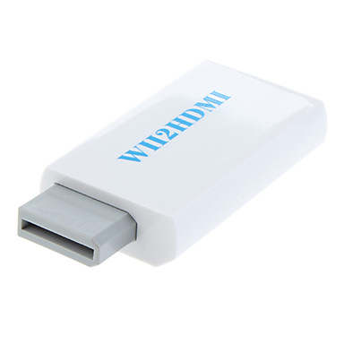 wii adaptador 1.3V 2 hdmi modos de visualización wii (480p 480i NTSC, 576i PAL)