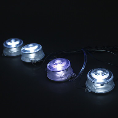 Purple 8 LED Under Car Vehicle Glow Light Decor Lamp (12V)