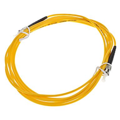 Câble de fibre optique, ST-ST-UPC, mode unique - 3 mètres