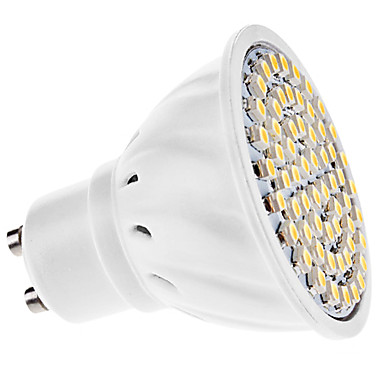 3W GU10 Spot LED MR16 60 SMD 3528 150 lm Blanc Chaud AC 110-130 / AC 100-240 V